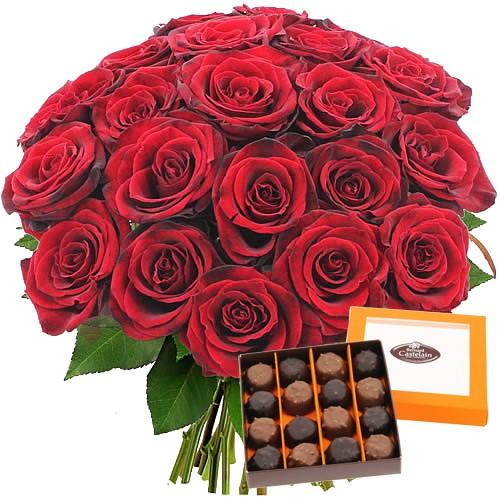 Des fleurs pour la saint valentin avec florajet for Bouquet de fleurs pour un homme
