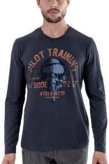 T-shirt manches longues Soldes Aeronautica Militare