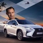 Lexus RX, le lifestyle selon Jude Law
