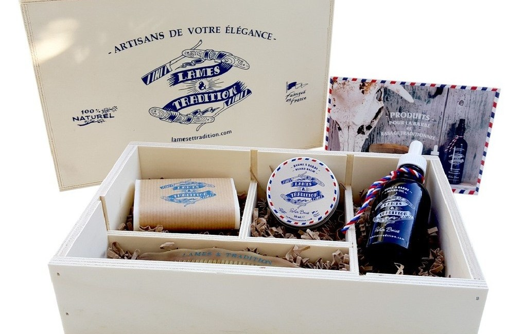 coffret barbe