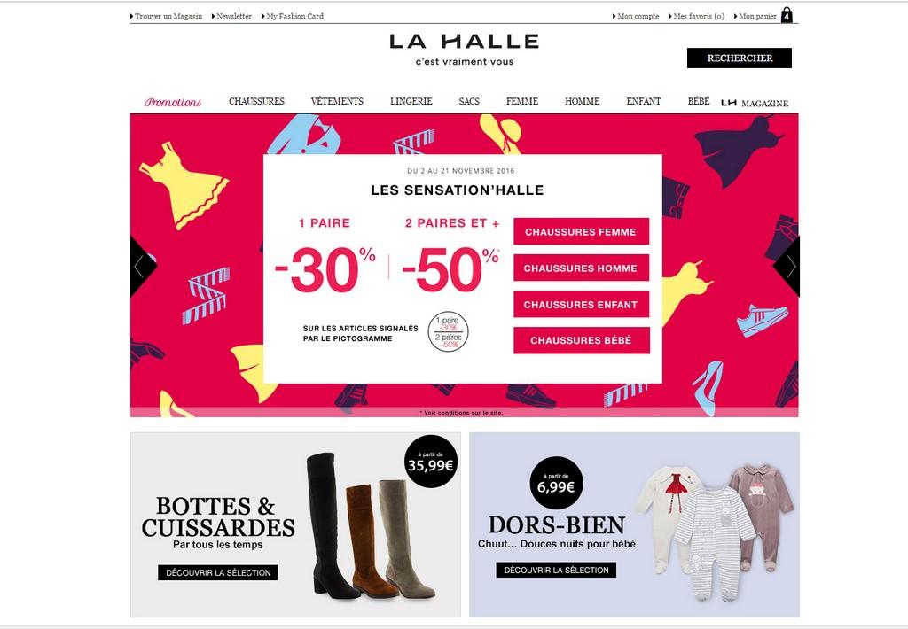 [Bon Plan] La Halle vous propose votre 2ème paire de chaussures à -50%