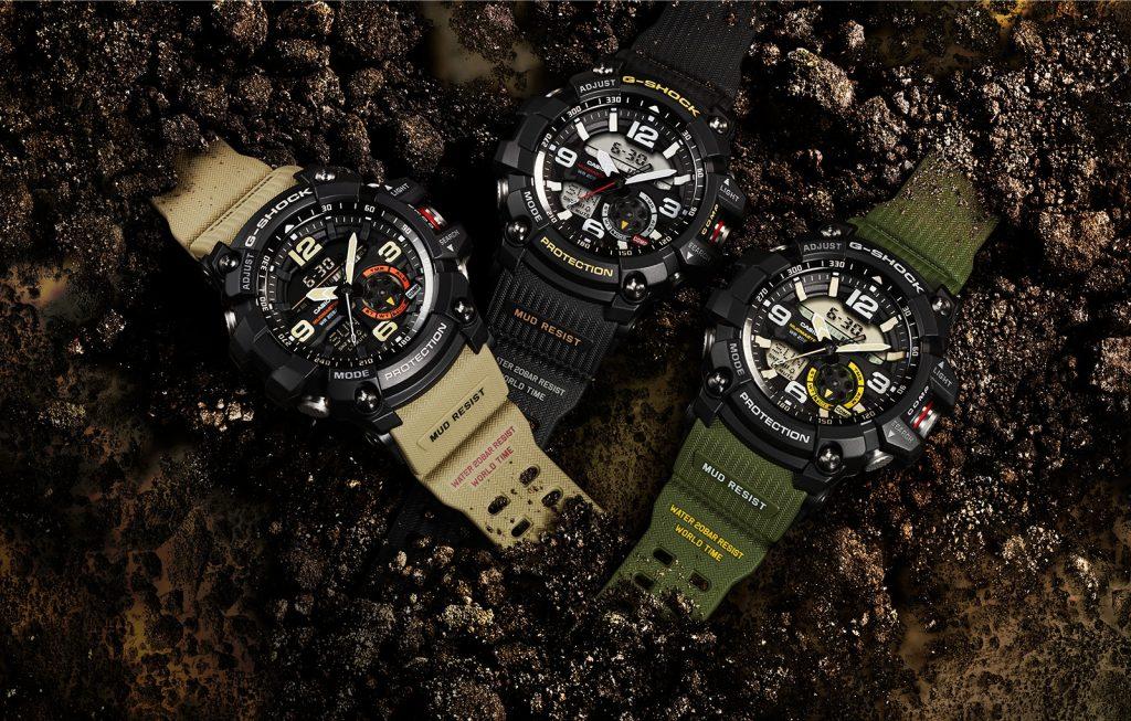 Casio G Shock Mudmaster, une montre créée pour la survie  VgotW
