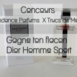 [Concours Inside] Gagne ton flacon Dior Homme Sport (terminé)