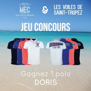Polo Doris Les Voiles de Saint-Tropez