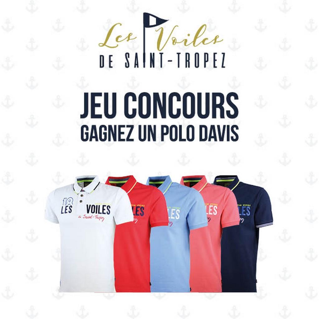 [Concours Inside]Gagne ton polo Davis Les Voiles de Saint-Tropez