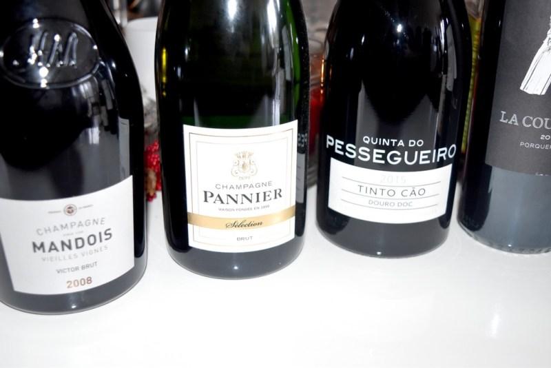 vins pour le réveillon de Noël 2018