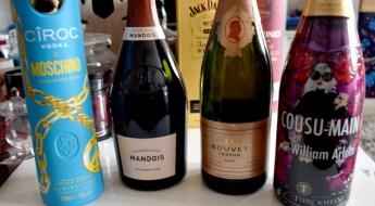 champagnes et spiritueux