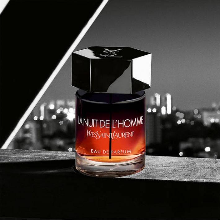 flacon la nuit de l'homme eau de parfum à gagner
