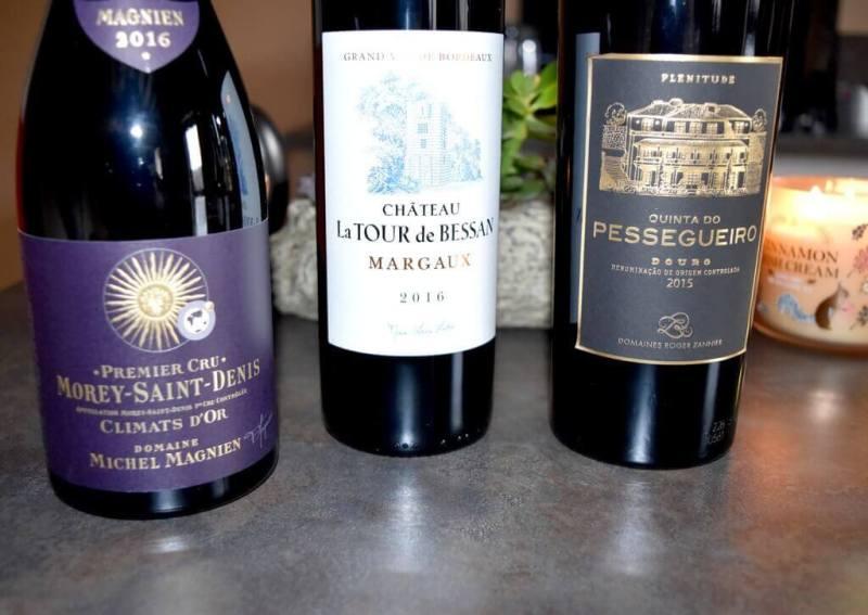 Sélection de vins pour le réveillons de Noël 2019