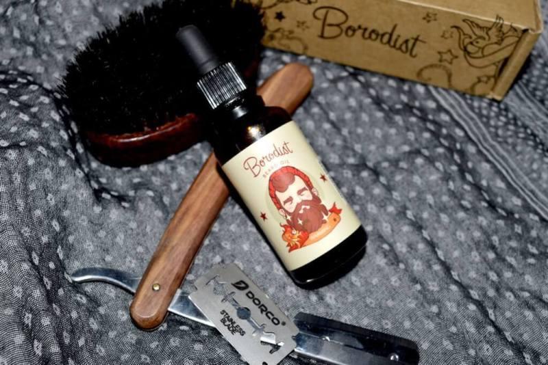 huile à barbe Borodist Warming