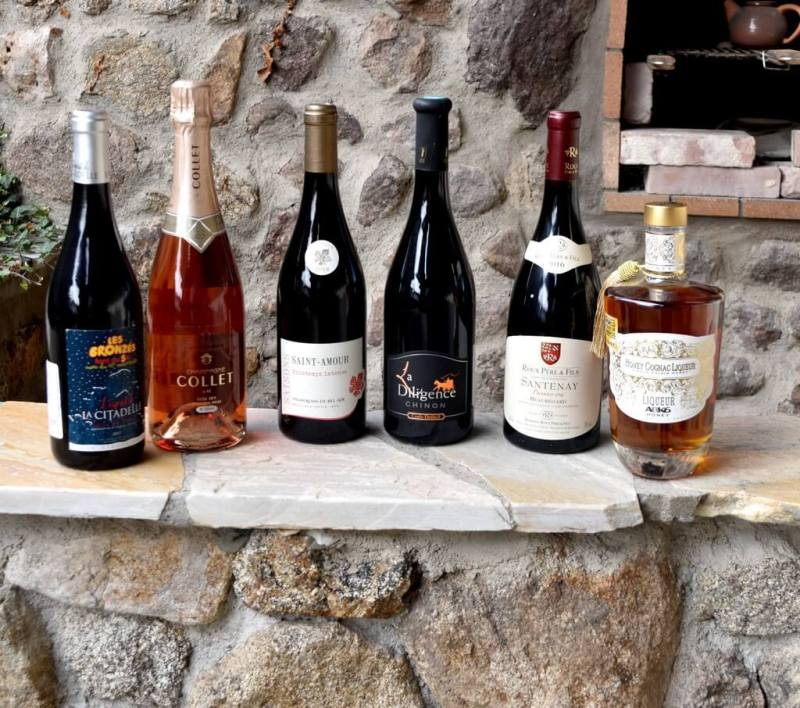 Sélection vins de saint-Valentin 2020