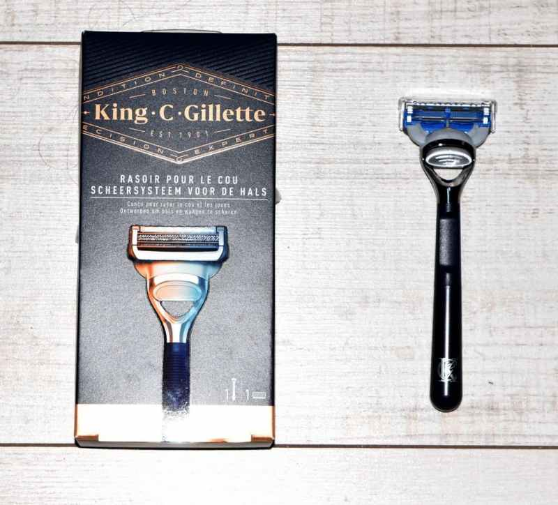 Rasoir de cou King C Gillette