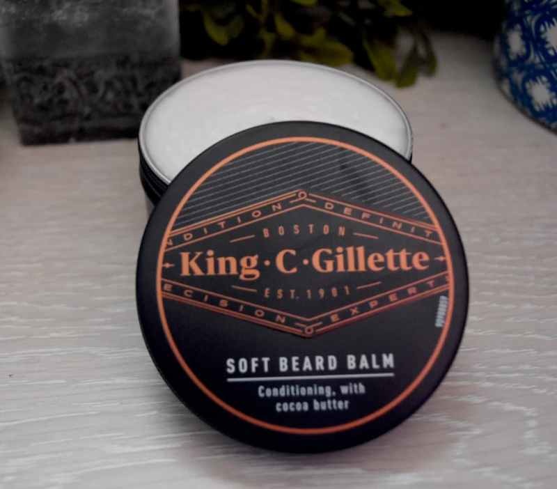 baume à barbe  King C Gillette