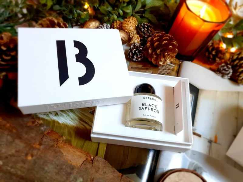 test Byredo Black Saffron
