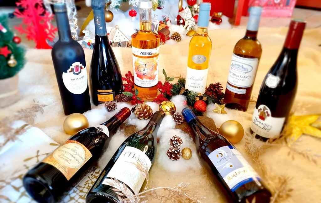 Sélection de vins pour Noël 2020 à prix mini