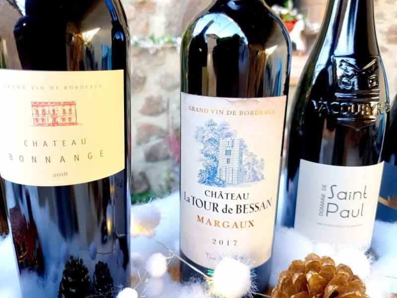 Sélection vins Noël 2020