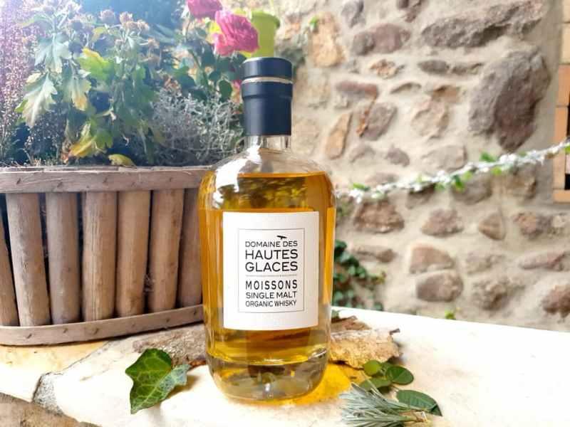 whisky français : Domaines des Hautes Glaces Moissons
