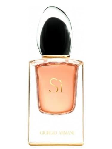Les meilleurs parfums femmes : Si Armani