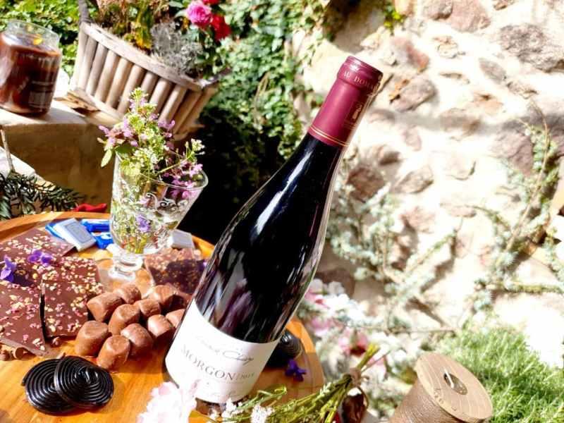 Accord vin et chocolat : MORGON LES GRANITES ROSES 2019 - Domaine Franck Chavy
