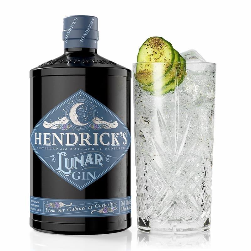 La collection insolite de cocktails d'Hendrick's : lunar & tonic