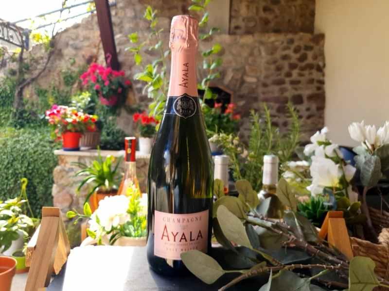 Sélection de vins pour le printemps 2021 : Ayala Rosé Majeur