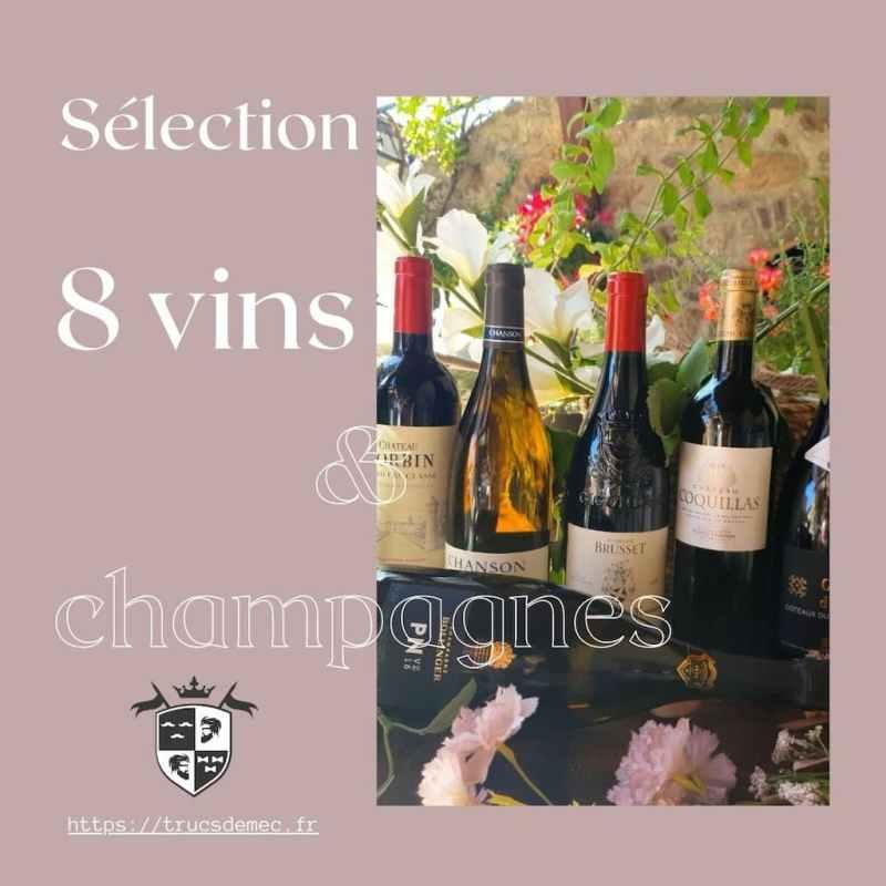 8 vins et champagnes pour l'été 2021