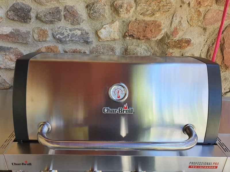 Test du Barbecue Char-Broil Professional Pro S4