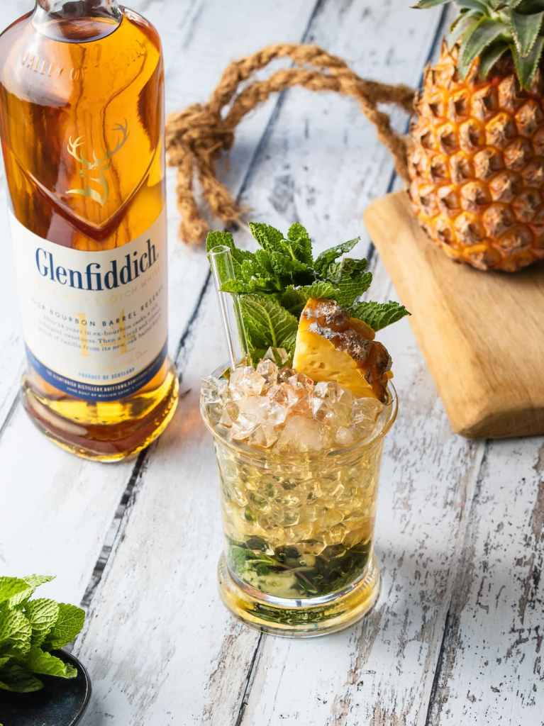 Cocktails Glenfiddich Dufftown julep