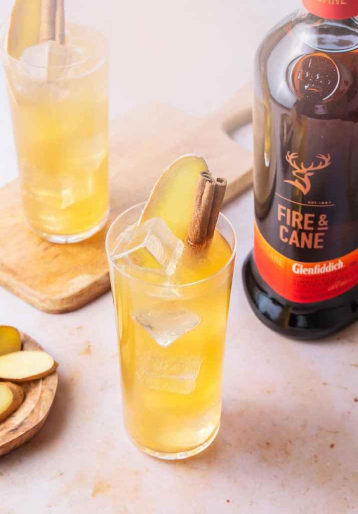 Cocktails GLENFIDDICH - Fire & Cane Mule