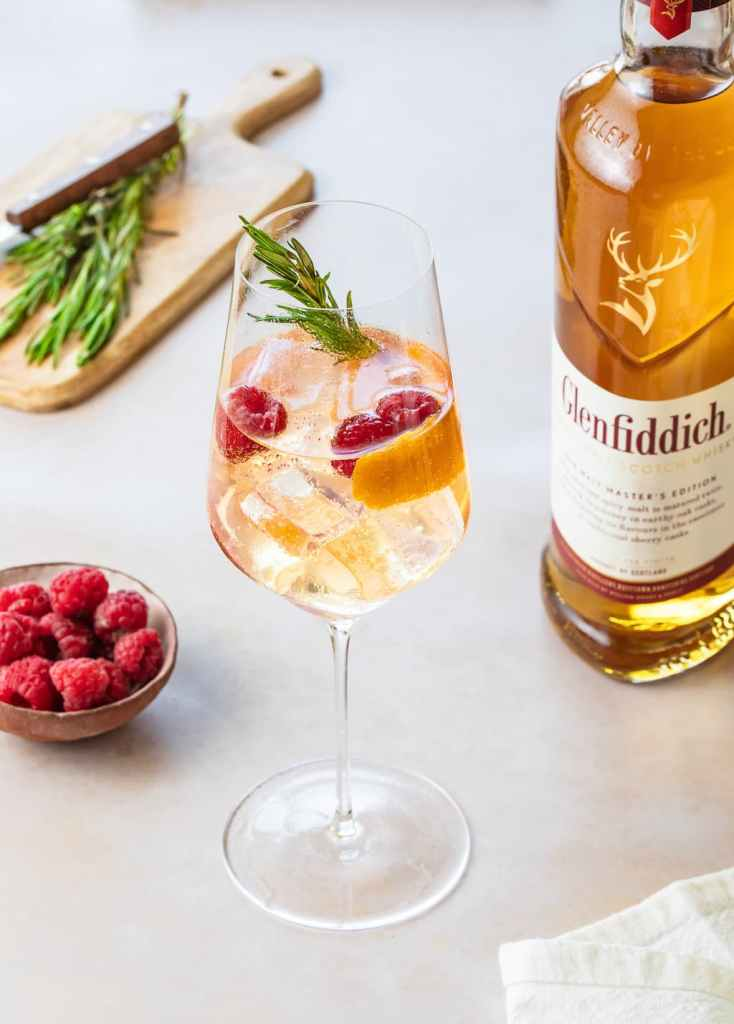 Cocktails GLENFIDDICH - sweet toast