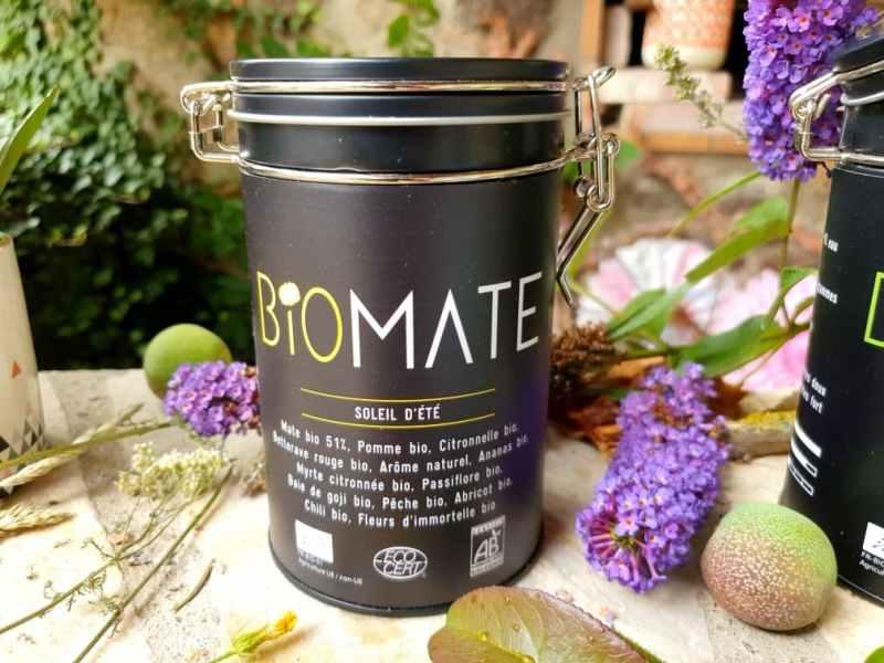 Biomate : maté soleil fruité