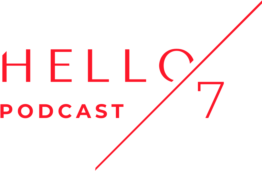 Hello Seven podcast logo