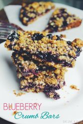 easy blueberry crumble bars recipe
