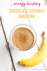 This indulgent Chocolate Coconut energy boosting smoothie is packed with nutrients and is perfect for the woman on the go.