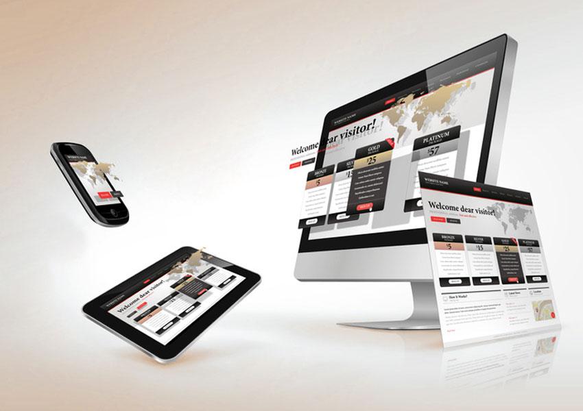 Hochwertiges Webdesign