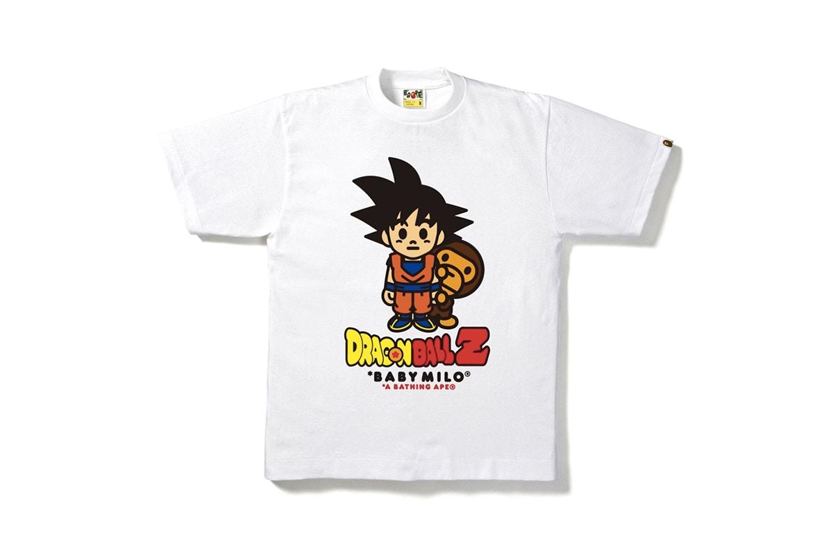 The Dragon Ball Z and Bape Team Up