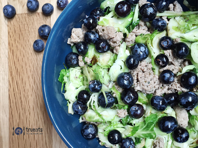 Shaved-Brussels-Sprouts-with-Blueberries | www.trueats.net