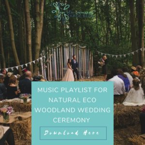 wedding playlists music playlist for a natural eco woodland wedding ceremony true blue ceremonies independent wedding celebrant katie keen