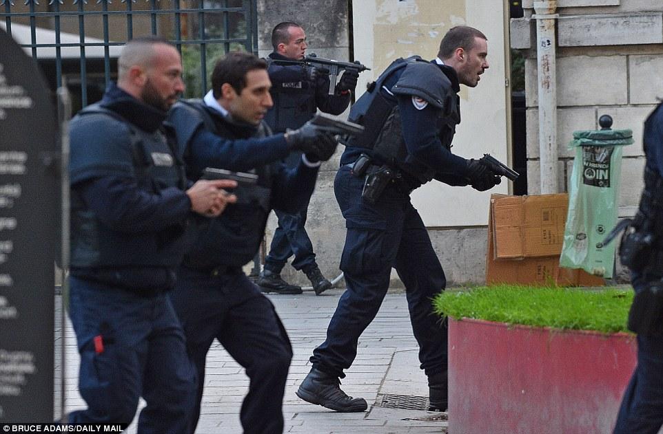 Disel police suit