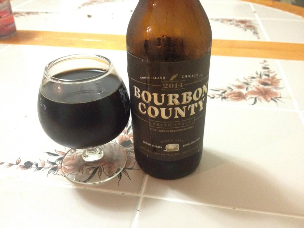 Bourbon County Brand Stout 2014 release (1/2)