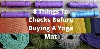 Yoga Mat Buying Checks
