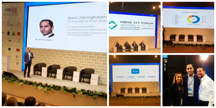 Our co-founder and CSO, Nami Zarringhalam at MENA ICT in Jordan