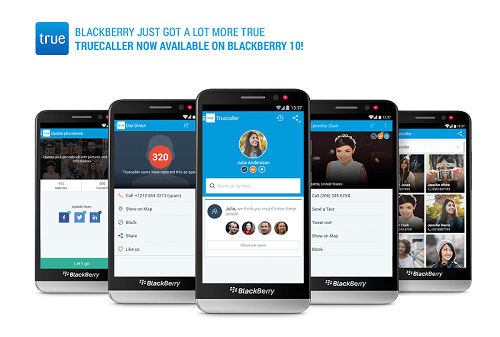 Truecaller Comes to BlackBerry 10