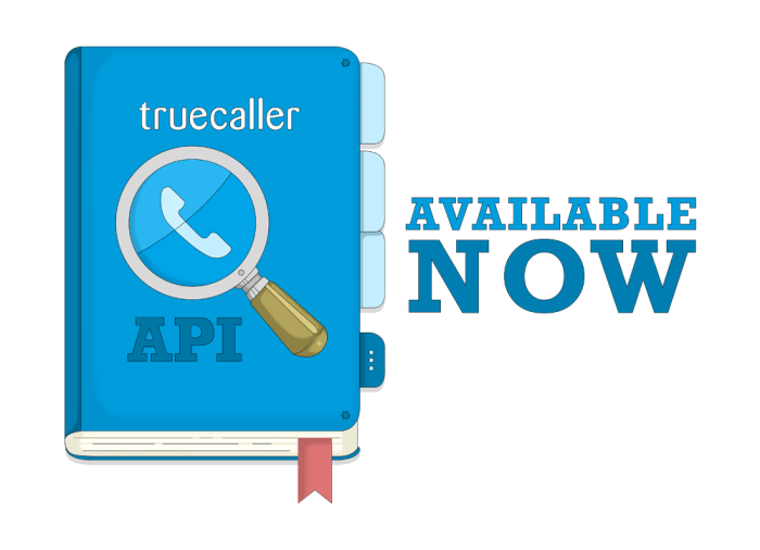 no background truecaller api small