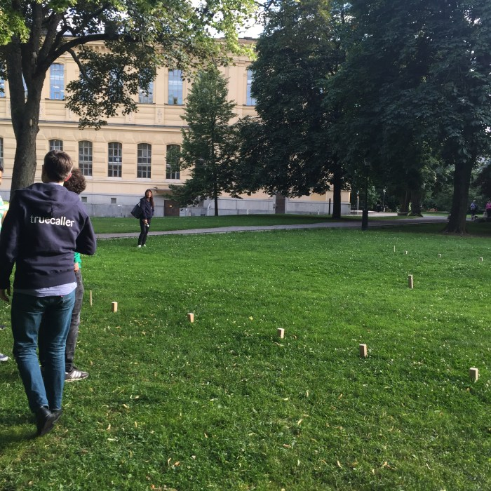 Kubb with Truecaller