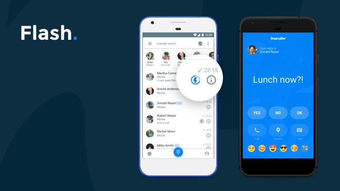 Truecaller 8 - Flash