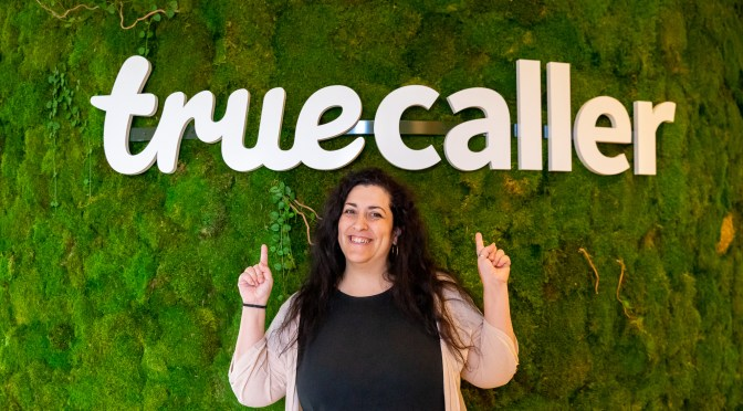 Meet Despi: the First Smiley Face You'll See at the Truecaller Stockholm Office