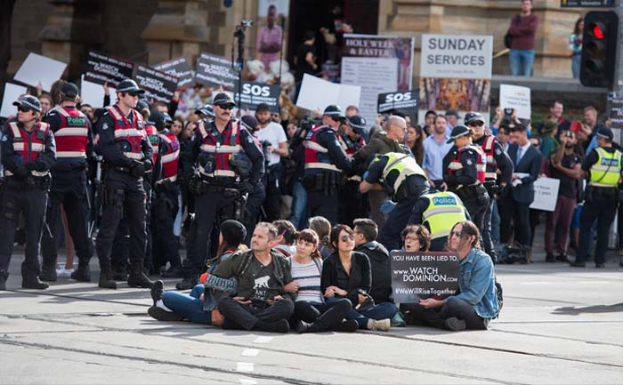ANIMAL RIGHTS PROTEST MELBOURNE