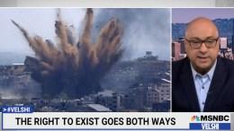 Ali Velshi on Israeli/Palestinian conflict