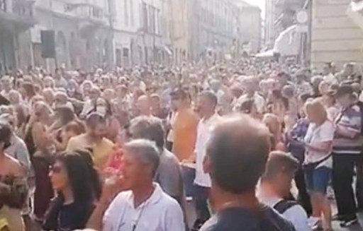 World-Wide Rally For Freedom - Palma, July 24, 2021.